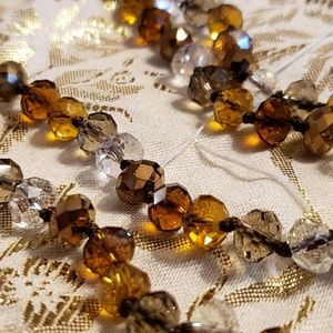 Joan Rivers Bead Earth Tone Necklace
